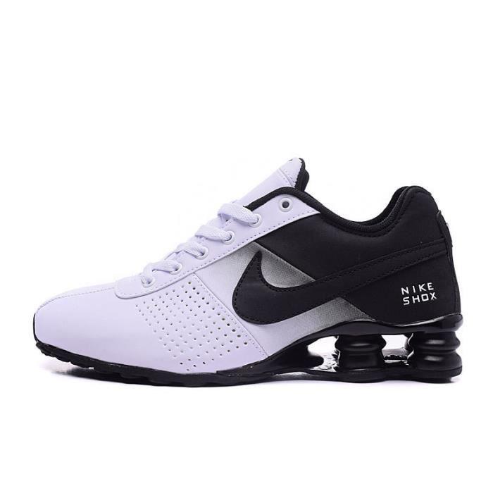 Nike Shox Deliver Baskets Chaussures De Sport Noir Blanc NOIR BLANC - Achat  / Vente espadrille - CdiscountCdiscount.com