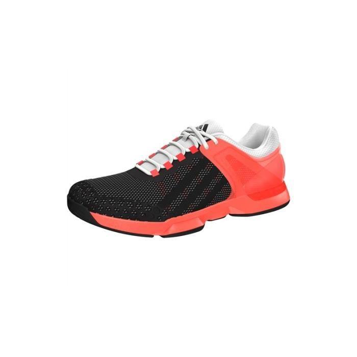Chaussures ADIDAS Homme Adizero ubersonic Blanc Rouge