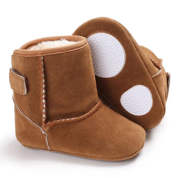 bottes semelle garçons fille bottes de doux neige Bébé BedCxWrQo