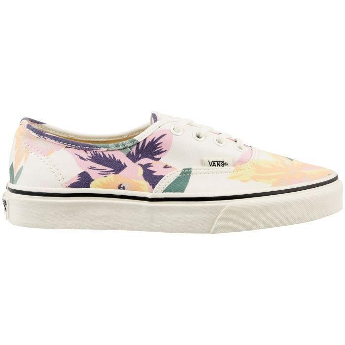 chaussure vans avec des fleur