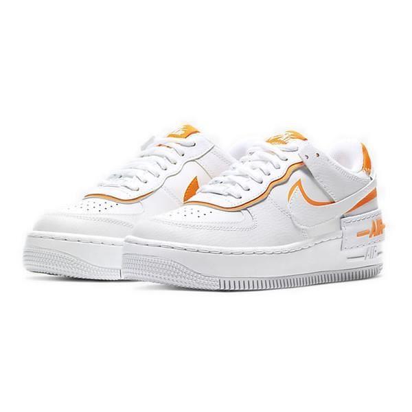 basket air force 1 femme orange