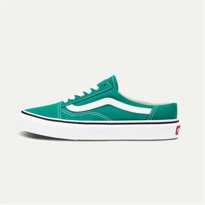 BASKET VANS SLIP-ON Chaussure pour Homme-Femme - vert Vert - Cdiscount