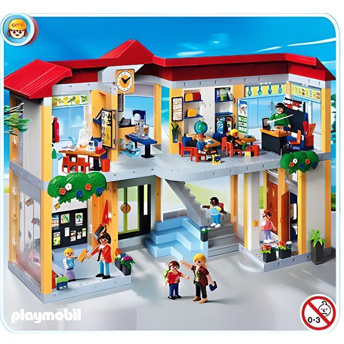 UNIVERS MINIATURE Playmobil 4324 - Ecole