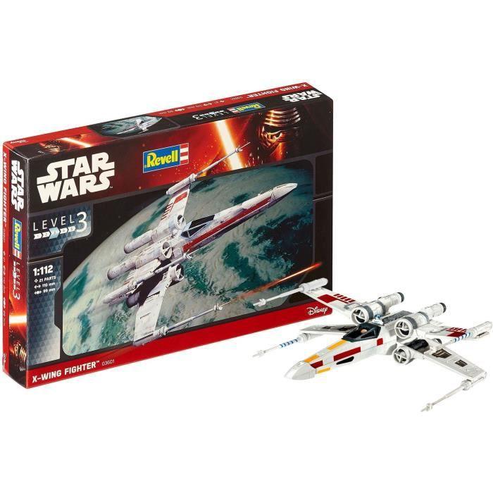 NEUF REVELL 03603 1:90 Star Wars Tie Interceptor Model Kit
