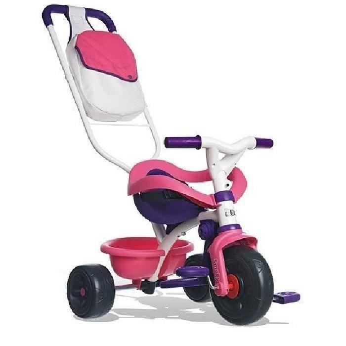 Smoby tricycle be move confort fille evolutif 8 36 mois achat vente tri - Livraison confort cdiscount ...