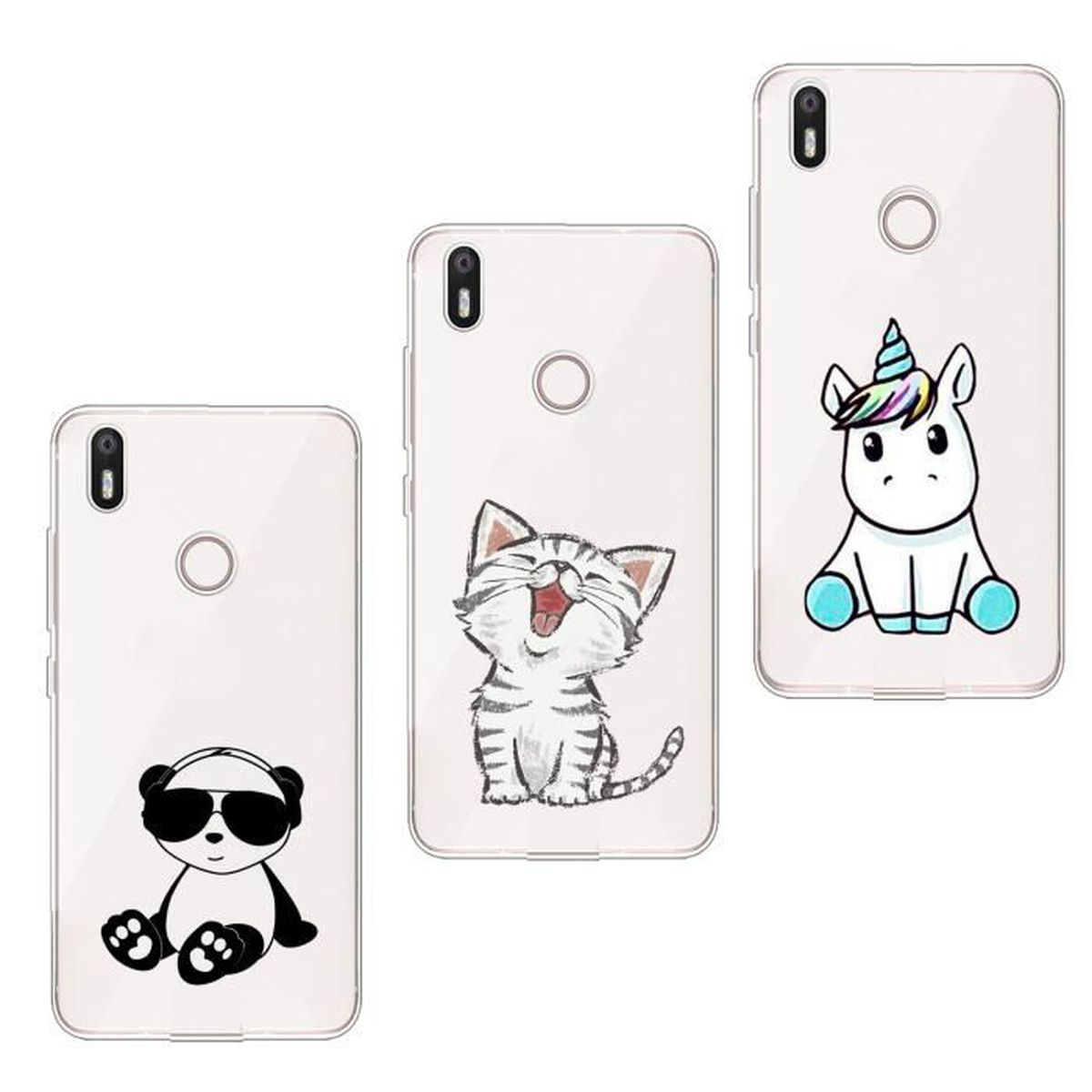 coque chat huawei p20