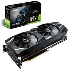 CARTE GRAPHIQUE INTERNE Carte graphique ASUS Dual nvidia GeForce  RTX 2080