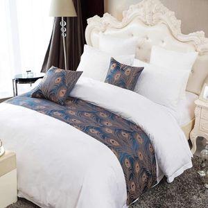 JETÉE DE LIT - BOUTIS Bed Runner Chemin de Lit Noble Sytle Asiatique Tis