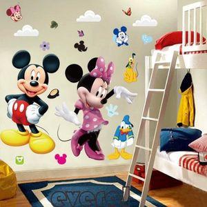 STICKERS Bricolage Grand Mickey Mouse Minnie Stickers murau