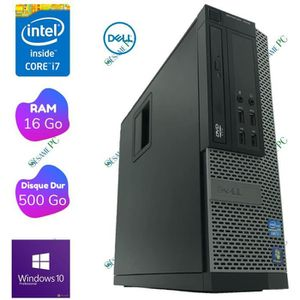 ORDI BUREAU RECONDITIONNÉ DELL Optiplex 7010 - Intel Core i7 3770 3.40 GHz -