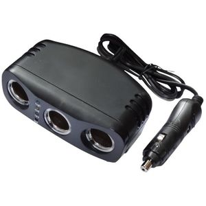 Multiprise 12V 24V USB pour allume-cigare 3x USB 5V 2.5A micro auto voiture caravane camping-car camion Aerzetix