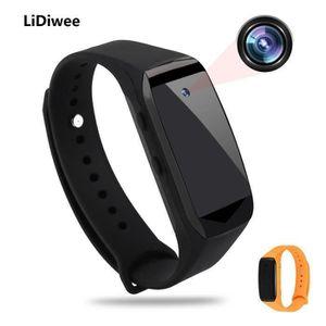CAMÉRA MINIATURE Montre portative de montre d'appareil-photo d'espi