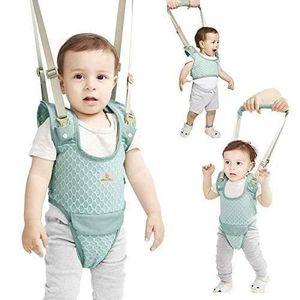 B/éb/é marche Harnais portable Trotteur b/éb/é Safe Support /à pied assistant marche Aide respirante Ceinture de marche r/églable pour enfant en bas /âge infantile Rose