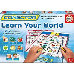 PARTITION Educa Connector Learn Your World Game