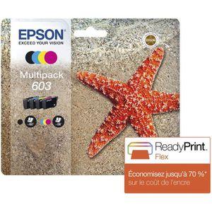 PACK CARTOUCHES EPSON Cartouche d'encre Multipack 4 couleurs 603 I