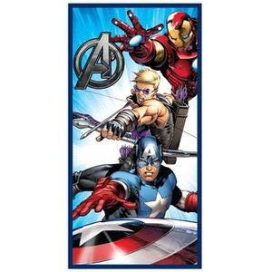 Kid Grande Serviette De Bain 180cm Microfibre Avengers Marvel