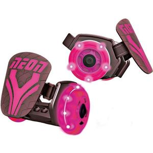 PATIN - QUAD Rollers lumineux à LED - Neon Street - Rose - Fill