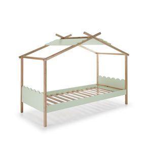 STRUCTURE DE LIT NUVEM Lit cabane enfant en bois pin massif et MDF