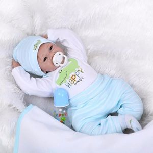 POUPÉE 22 pouce Réaliste reborn poupées bébés silicone re