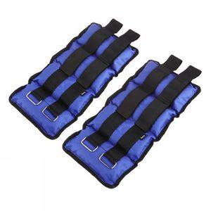 Sanhai Fitness-Bearing Bracelet Poids Poignet Poids-Roulement Halt/érophilie Simulateur Poignet Poids Set Poignet Poids Bracelets Wearable Poids Bracelet Fitness,Bleu