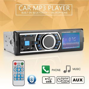 INSTALLATION AUTORADIO 12V mains libres de voiture Bluetooth stéréo MP3 A