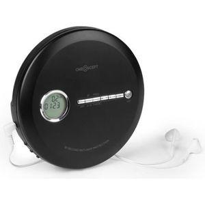 BALADEUR CD - CASSETTE Lecteur CD - oneConcept - CDC 100 BT Discman - noi