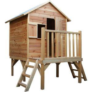 MAISONNETTE EXTÉRIEURE Cabane en bois pour enfant  ILOA