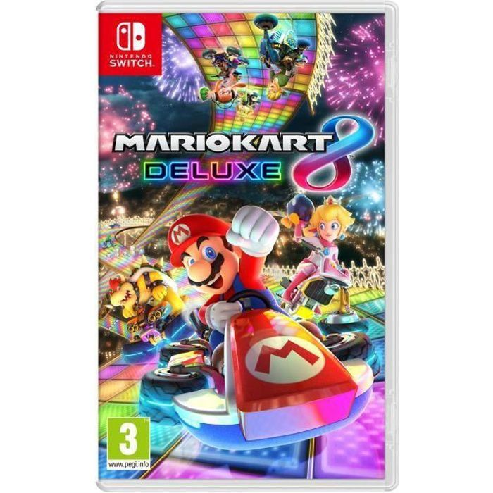 Mario Kart 8 Deluxe Jeu Switch