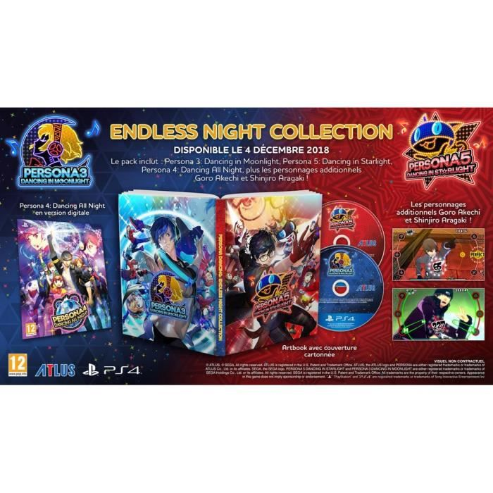 Persona Dancing : Endless night Collection Jeu PS4