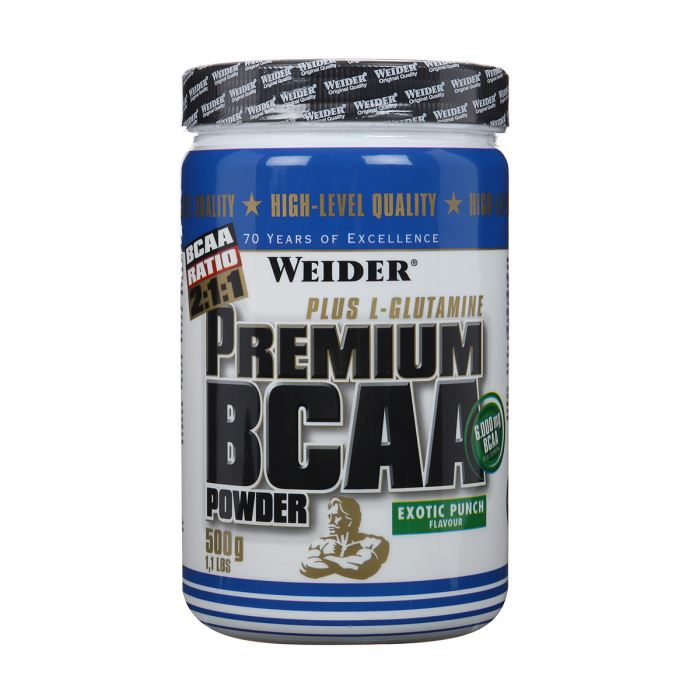 WEIDER Acides Aminés Premium BCAA Powder Exotic
