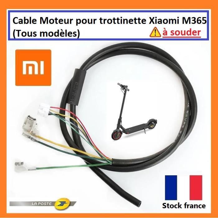 Cable Moteur Xiaomi M365 Pro 1S Essential trottinette électrique cable de remplacement xiaomi moteur pièce détaché xiaomi
