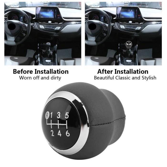 Bouton de levier de vitesse de voiture 6 vitesses pour Toyota Corolla Verso Auris Yaris RAV4 2007-2013-OHL