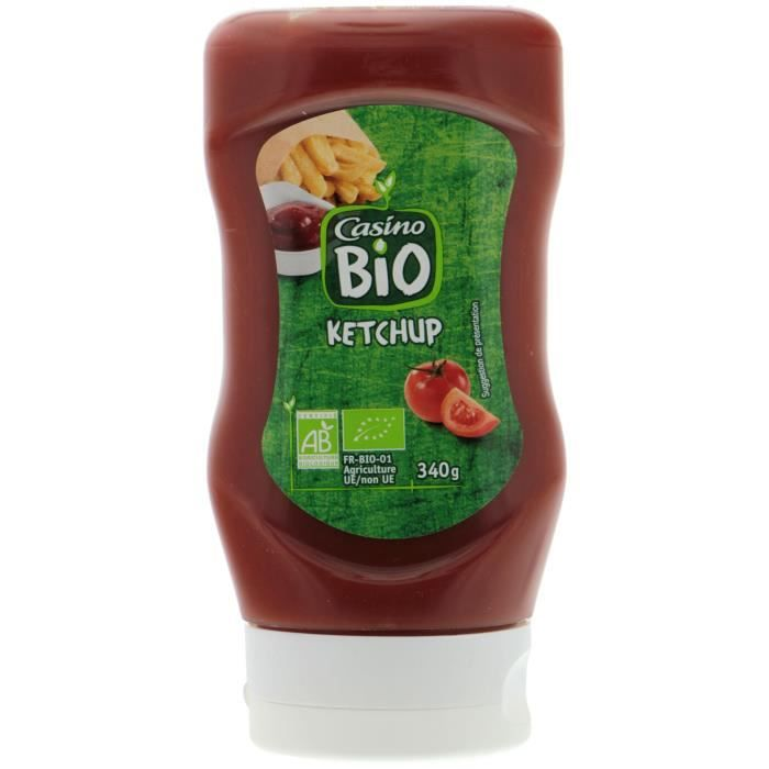 CASINO Ketchup Bio - 340G