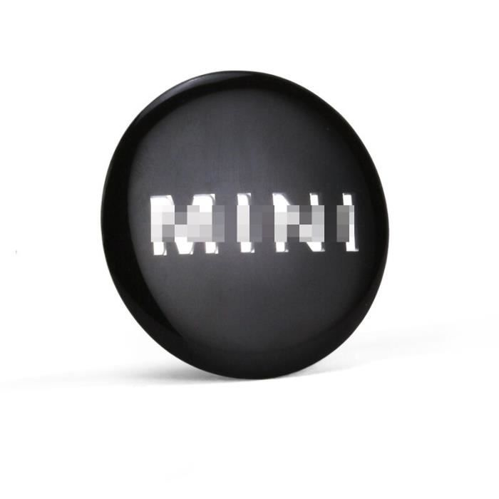 Cache-moyeu autocollant 52mm pour Mini Cooper S JCW One + R55 R56 R60 R61 F54 F55 F56 F60 Clubman Countryman [0FF5E8F]