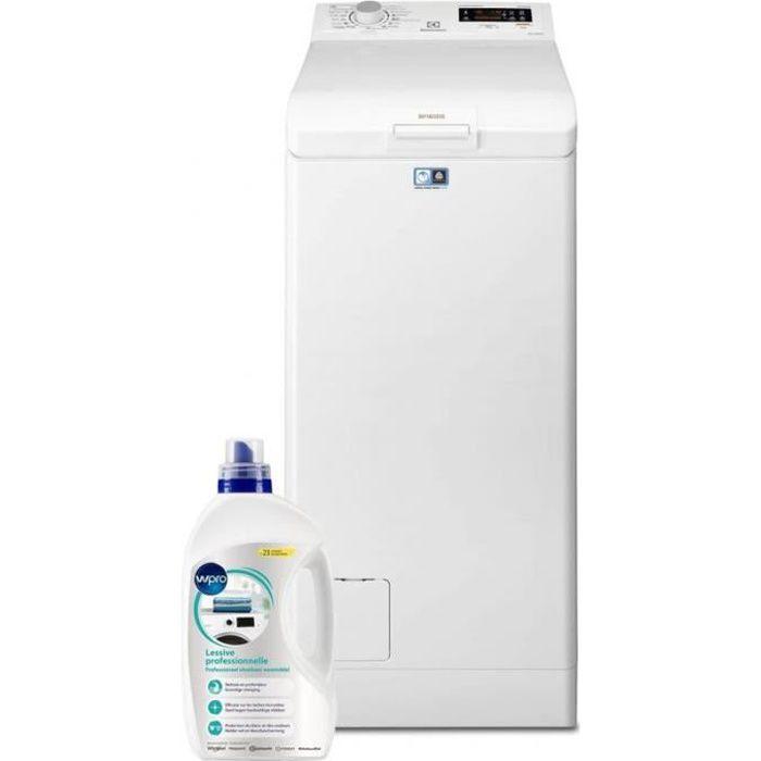 ELECTROLUX Lave-linge top 6kg 1200trs/min Tambour 42L SensiCare Machine à laver