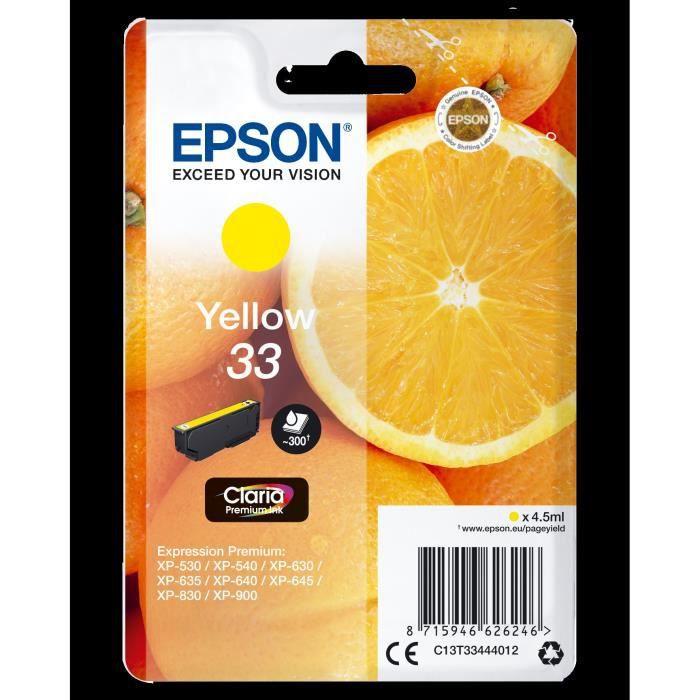 Epson Cartouche T3344 Oranges Jaune