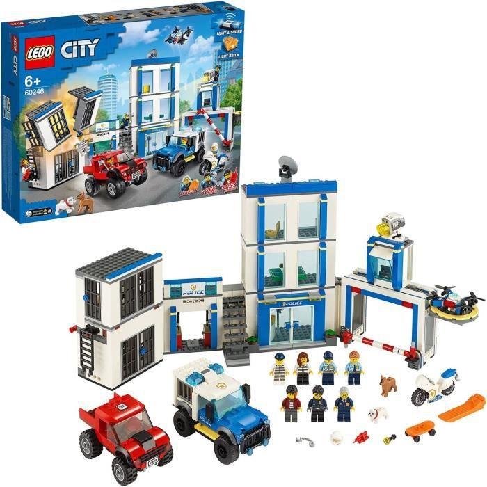 LEGO® City 60246 Le commissariat de police