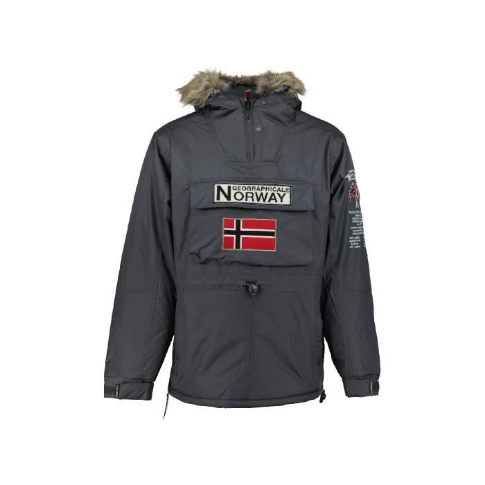 Parka Enfant Geographical Norway Boomerang Gris