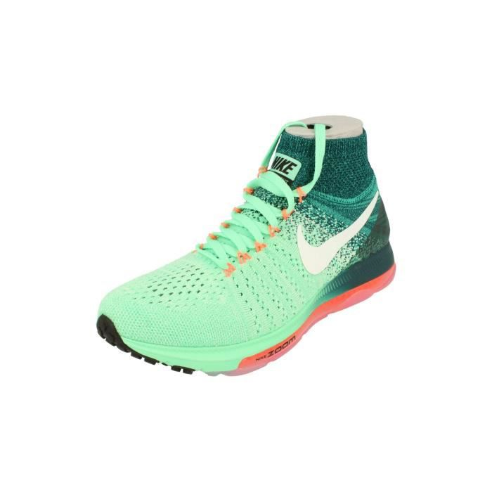 Nike Femme Zoom All Out Flyknit Running Trainers 845361 Sneakers Chaussures 300