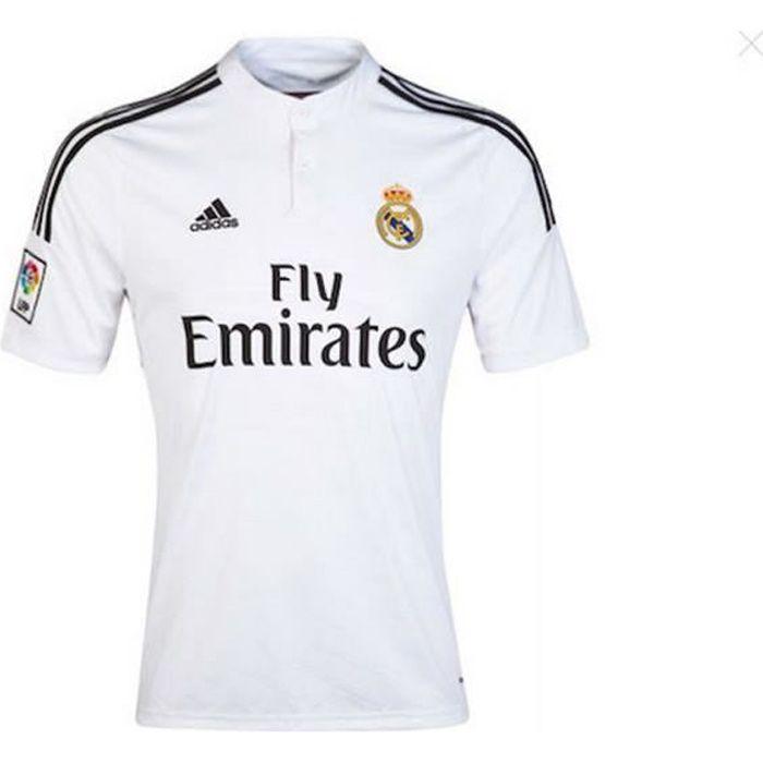 Maillot Adidas Homme Real de Madrid Domicile Saison 2014-2015