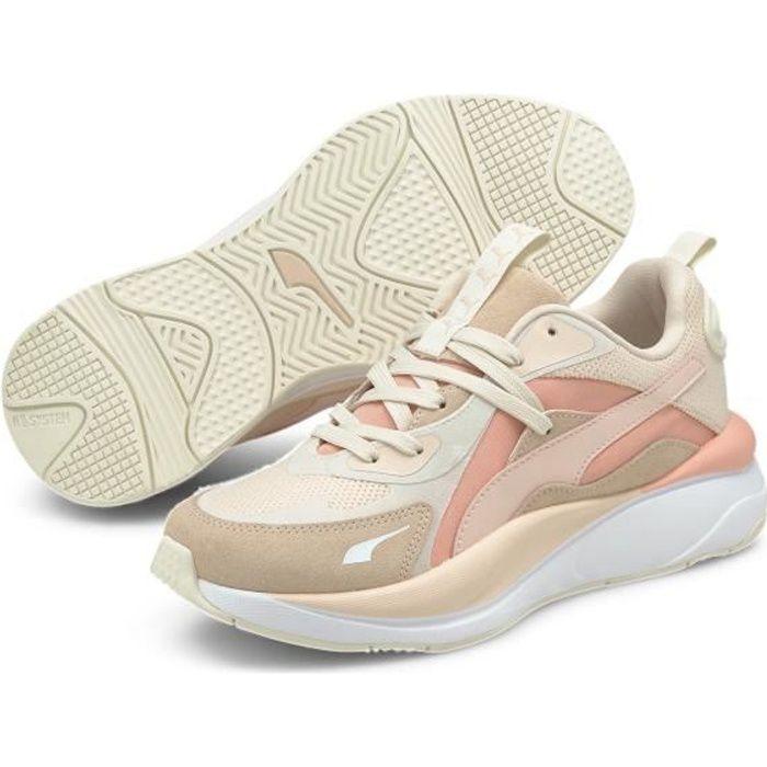 Chaussures de lifestyle femme Puma RS Curve Tones - rose saumon/blanc - 38