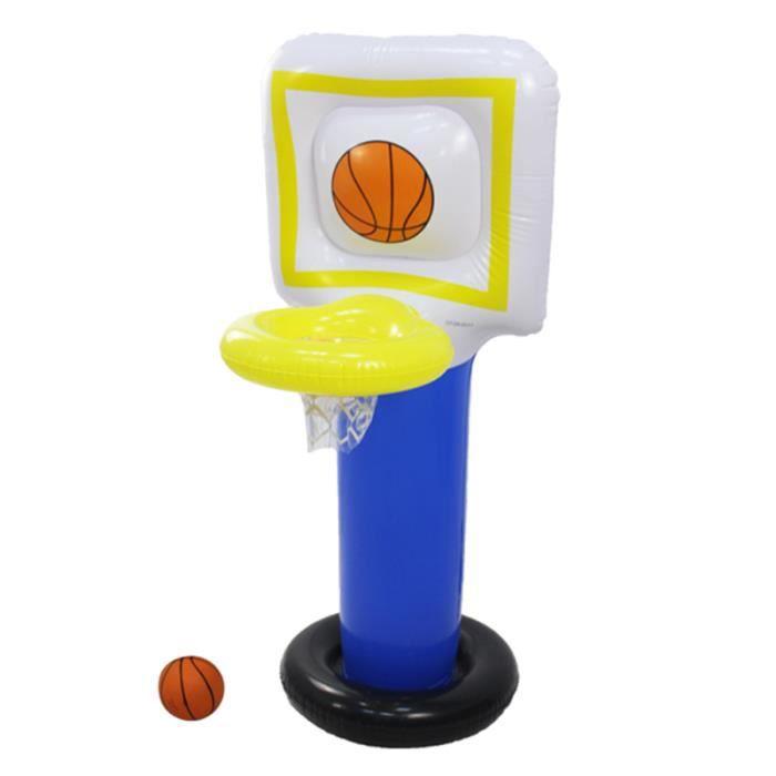 1 pc jouet gonflable Portable PVC dessin animé sport panier de basket-ball support de pour jardin en plein air TRAMPOLINE
