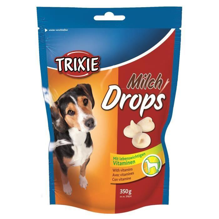 TRIXIE Pastilles Drops au lait - Pour chien - 350g