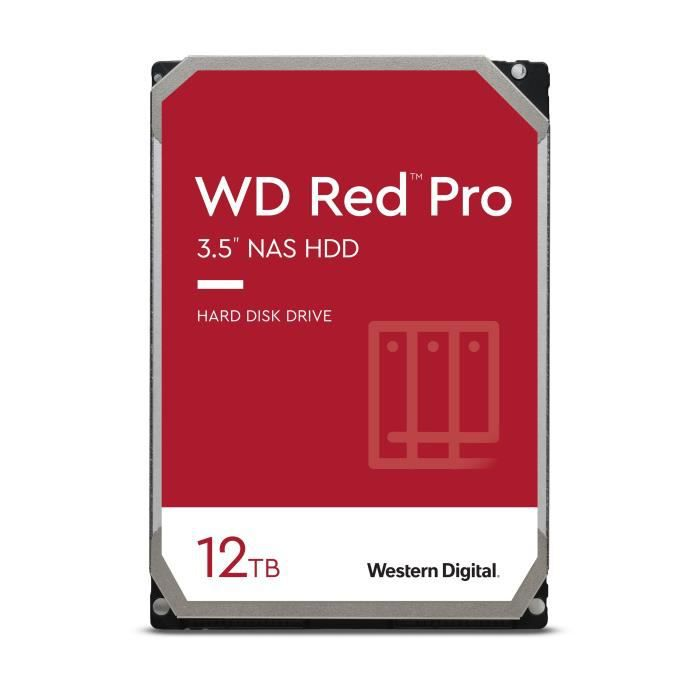 WESTERN DIGITAL Disque dur NAS Red™PRO 12 To