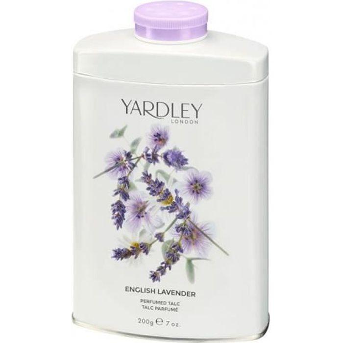 Talc English Lavender 200g Yardley