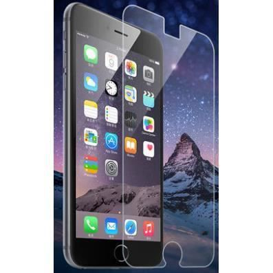 protection ecran en verre trempe apple iphone 6 plus transparent achat film protect t l phone. Black Bedroom Furniture Sets. Home Design Ideas