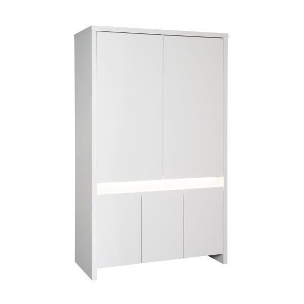 gallery of armoire enfant plante blanche led with. Black Bedroom Furniture Sets. Home Design Ideas