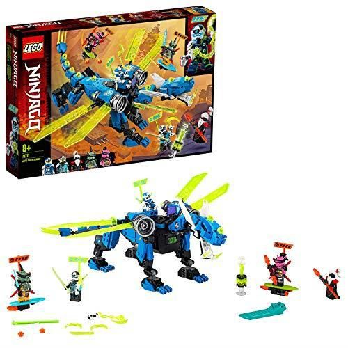Photo de lego-71711-ninjago-le-cyber-dragon-de-jay-set-de-construction-avec-figures