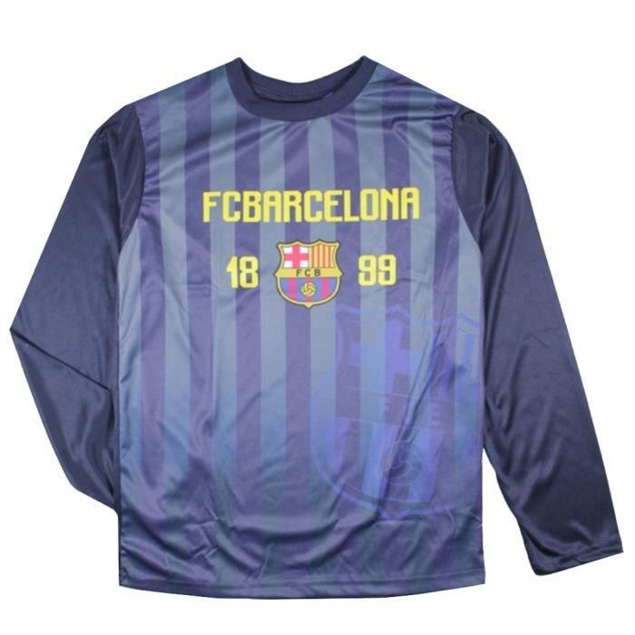 Maillot de foot FC Barcelone officiel bleu
