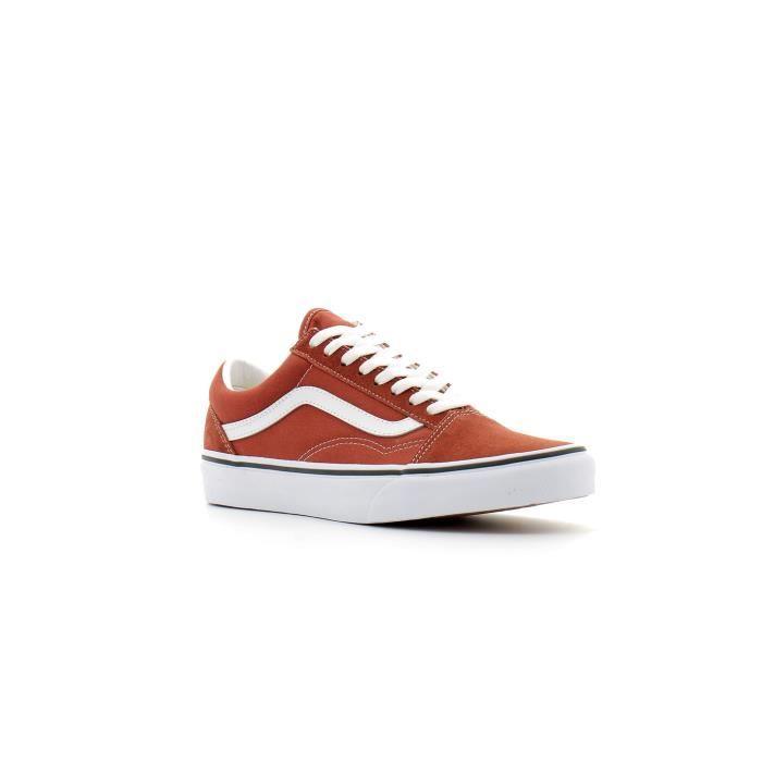 chaussures vans marron
